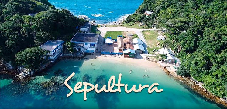 Praia da Sepultura Bombinhas