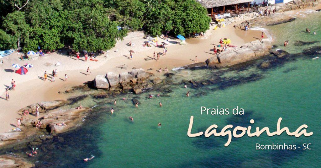 Praia da Lagoinha em Bombinhas