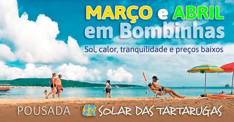 março abril em Bombinhas